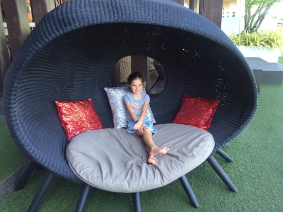 W Retreat Koh Samui: Punkiecita liked her big chair!