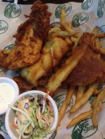 Bridgeport, CT: fish and chips