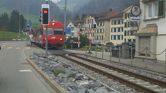 Stein, Schweiz: on the way
