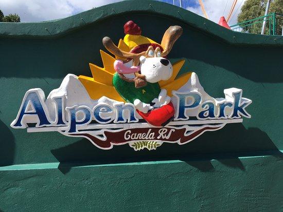 Alpen Park: Entrada