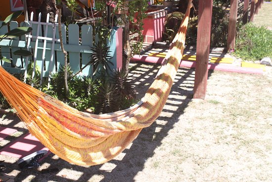 Si Como No Inn: Hammock On The Patio