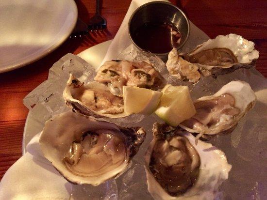 มันซานิตา, ออริกอน: oysters