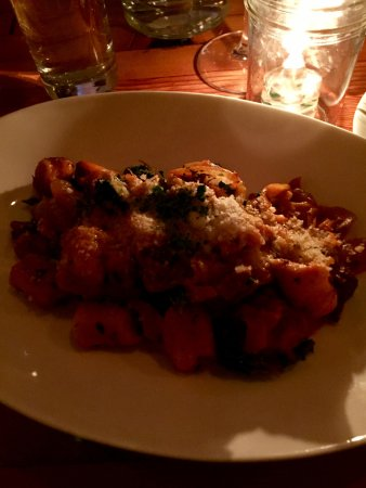 Blackbird Restaurant: gnocchi