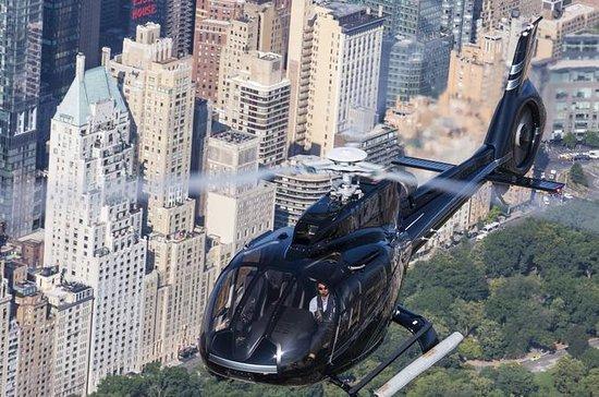 ニューヨークのヘリコプター遊覧プライベート・ツアー:ニューヨークのスカイライ…
