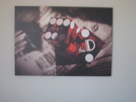 The D Casino Hotel Las Vegas: Pic on the wall of the room