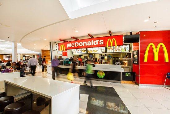 Mcdonalds In Food Court Fotograf 237 A De Richmond Mall