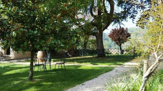 Torraccia di Chiusi: Upper Garden Area