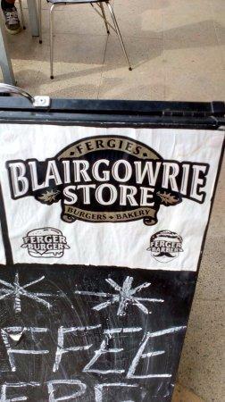 Blairgowrie, Australia: Street Sign
