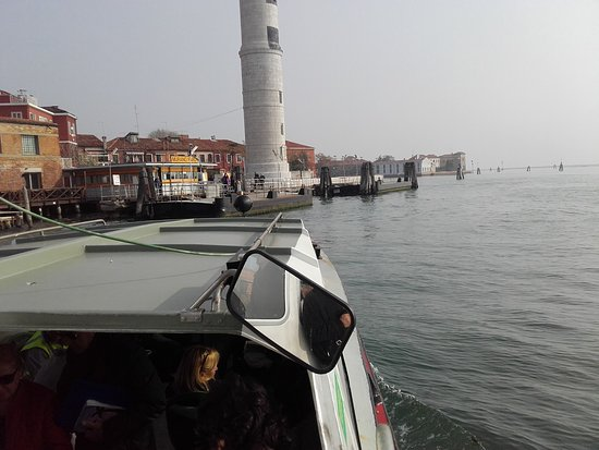 Isola di Murano: The light-house at the arrival