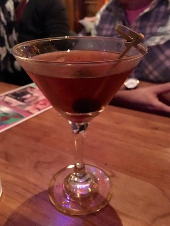 Zigzag, OR: The Manhattans were pretty decent