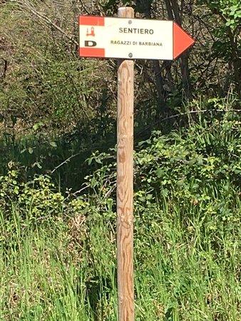 Vicchio, Italy: Sentiero di Barbiana