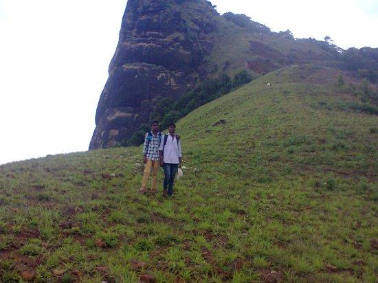 Kuduremukha, อินเดีย: Kuranjal  peak ,kudremukh