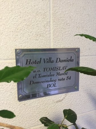 Hotel Villa Daniela: Name of hotel