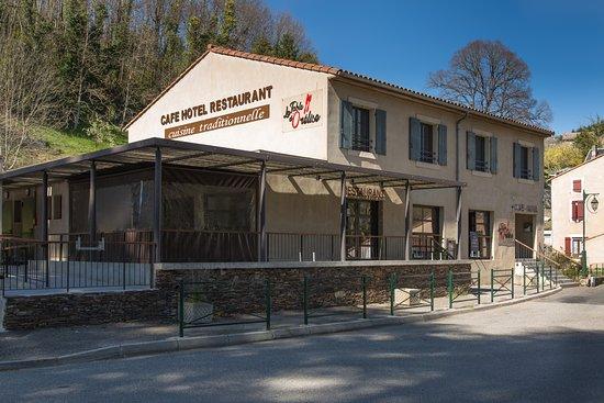 Cuxac-Cabardes, France: VUE DE L'ETABLISSEMENT