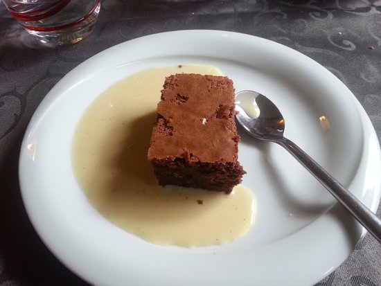 Nantua, France: Fondant au chocolat