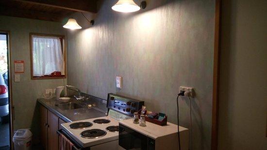 Hanmer Springs, Nova Zelândia: kitchen space
