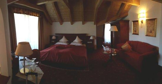 Ladis, Oostenrijk: Romantiktraum-Suite mit Sauna