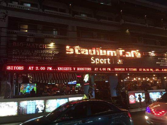 Stadium Cafe Kuta: Outside View of Stadium