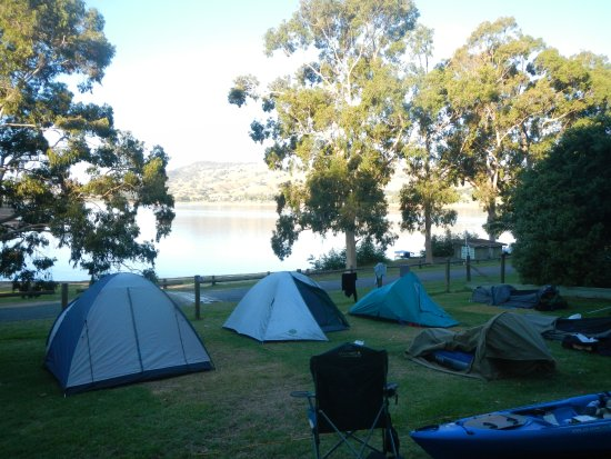 Lake Hume Village, Avustralya: Camping Area