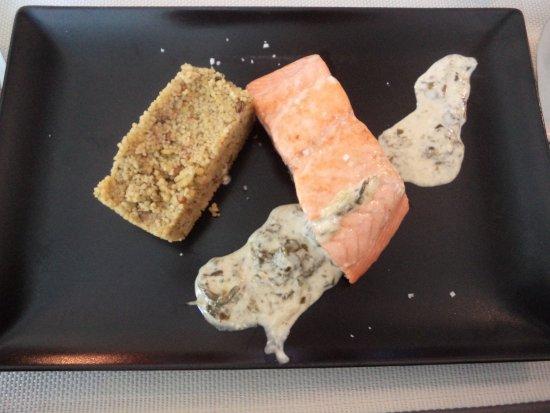 Compeyre, Francia: le saumon