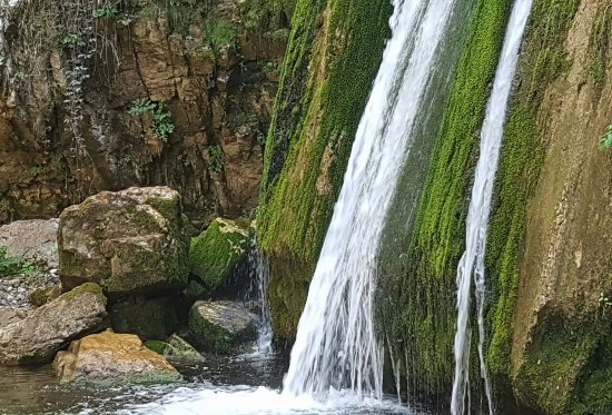 Olympiada, Greece: Waterfall