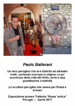 """Ponte San Giovanni, Włochy: La """"Bocca della Verità"""" Copia by P. Ballerani"""