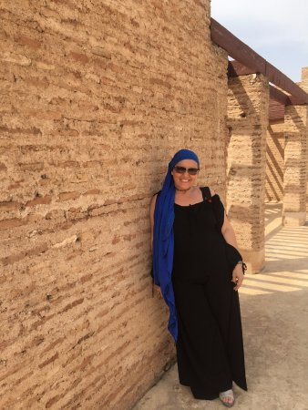 at Badi Palace close by Riad Badi Marakkech