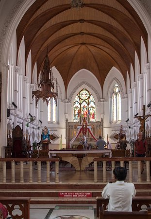 San Thome Church : Internal view