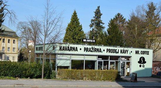 Zlin, Czech Republic: Kavárna a pražírna Mr. Coffee ve Zlíně