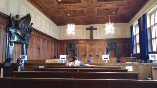 Sala 600 picture of nuremburg trial courthouse for Sala 600 nuremberg