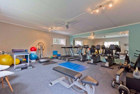 Hlangana Lodge: Fully equipped gym