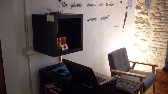 Gualdo Tadino, Włochy: Sala lettura
