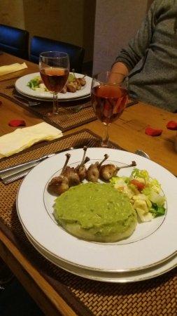 Bourgnac, Frankrike: Notre repas du soir