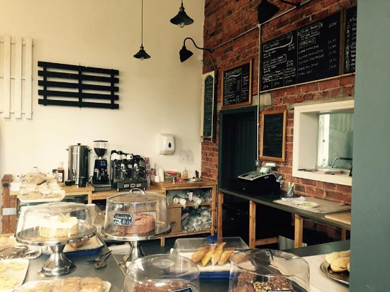 Stokesley, UK: Cafe Interior