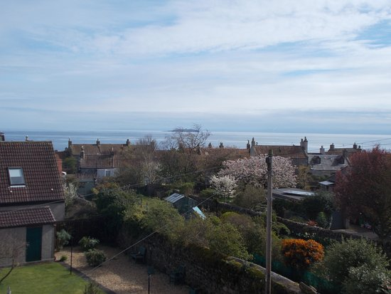 Crail, UK: View from room 'Seaview'