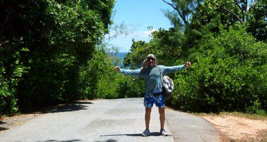 Praslin Adası, Seyşeller: Vittoria!!! Raggiunta la vetta :-)