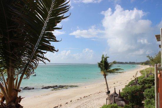 La Palmeraie Hotel: Blick in Richtung öffentlicher Strand