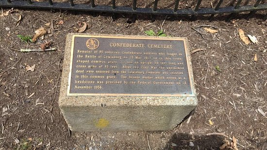 Lewisburg, Virginia Occidental: Confederate Cemetery