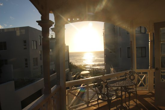 Bantry Bay, South Africa: Prachtige zonsondergang