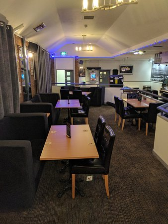 Glenrothes, UK: NEW DINING AREA