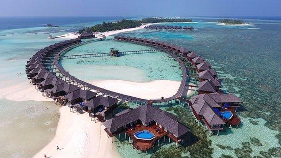 Olhuveli Island: Aerial  View