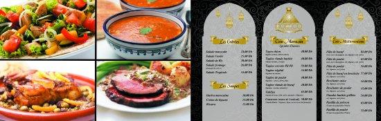 Restaurant Morisco : NOS SALADES,SOUPES , TAGINES  , GRILLADES .