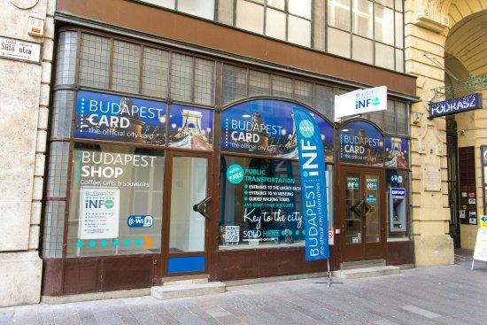 Budapestinfo Points - Deak ter (Suto utca)
