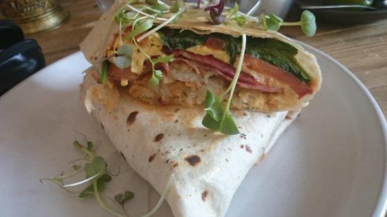 Maitland, Australia: Brekky Wrap - best brekky wrap I've ever eaten!!