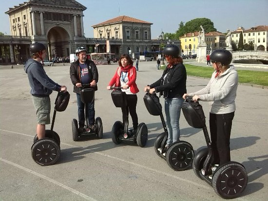 Life Tree Mobility - Segway Tour: Start am Prato della Valle
