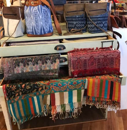 Purses from Guatemala at Cultural Cloth in Maiden Rock WI