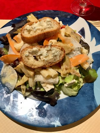Villefranche-de-Lauragais, ฝรั่งเศส: Jolie salade du moment 👍