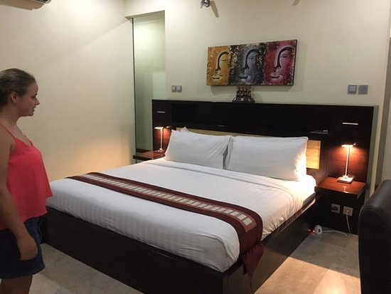O Villas : Upstairs bed room with ensuite