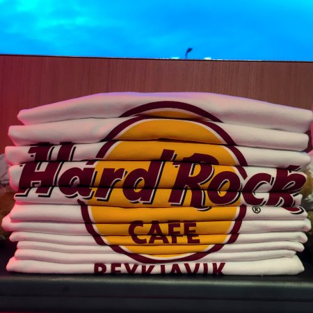 Hard Rock Cafe: HRC Reykjavik -T-Shirts