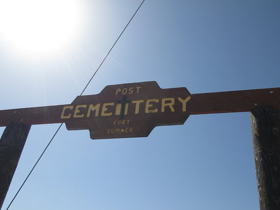 This was the old Fort Sumner Cemetary